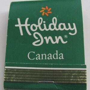 Unstruck Vintage Matchbook-Holiday Inn Wichita Falls TX.-Front Strike