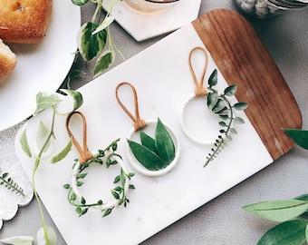 Greenery Wedding Favors, Greenery Baby Shower Favors, Botanical Wedding Favors, Boho Wedding, Boho Greenery Dream Catchers, Botanical Art