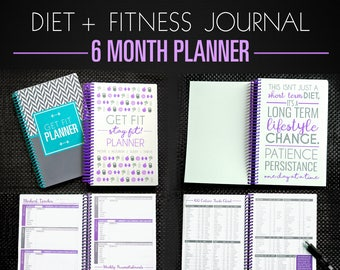 a5 fitness journal etsy