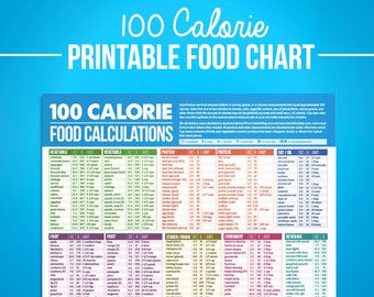 printable food journal diet diary calorie counter colorful etsy