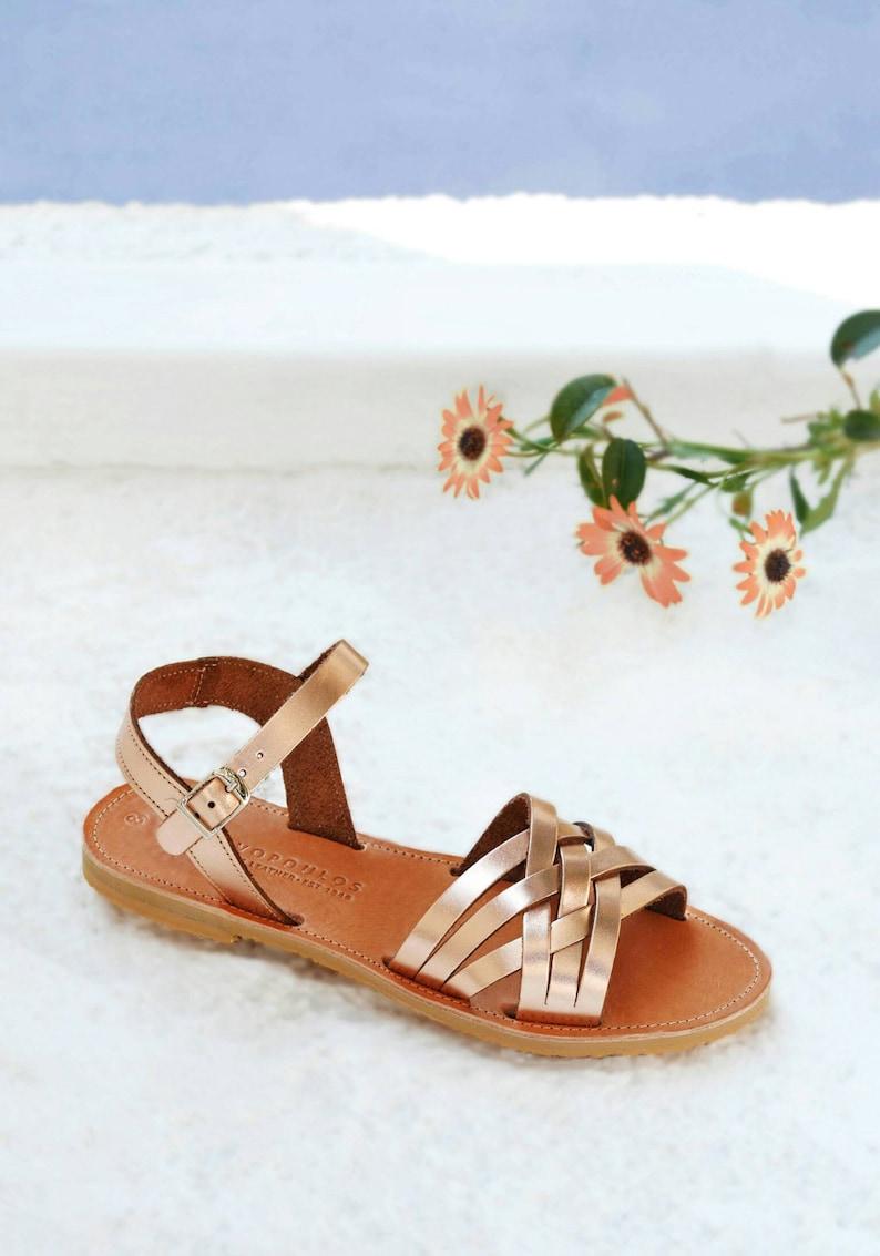 Leather sandals, Sandals, Greek sandals ,Leather sandals women, Sandales grecques, PLEXIDA
