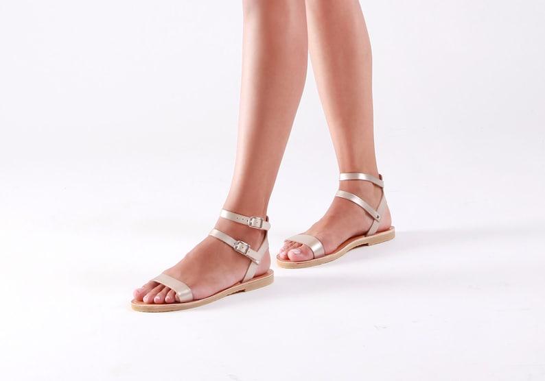 c8ad347de64e Leather sandals Greek sandals Sandals Leather shoes