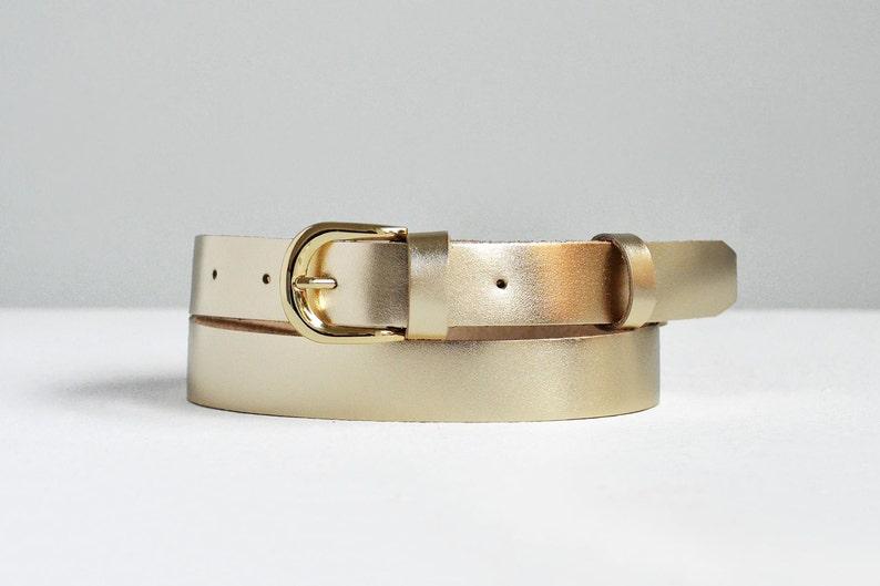 854e6e843a92d0 Gold Leder-Gürtel Gold-Gürtel Ledergürtel Damen | Etsy