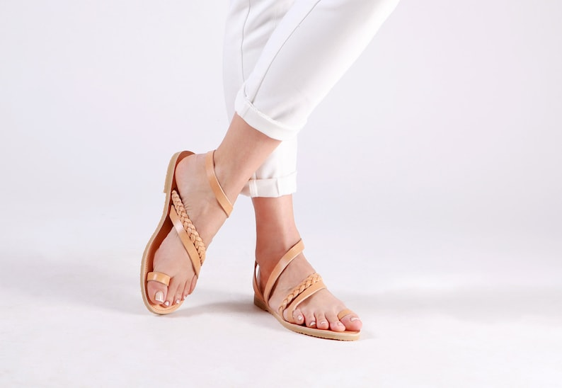 92c16f54c56a Greek sandals Ancient greek sandals Leather sandals