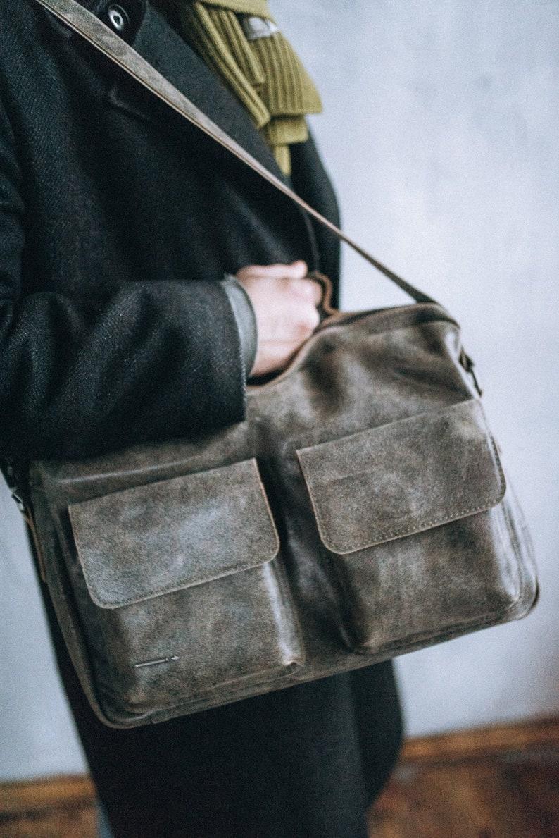 15 Inch Laptop Bag 30th Birthday Gift Men Briefcase College