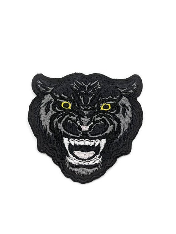 Royal Panther Embroidery Patch
