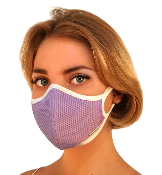 New Aria Lavender Air Pollution Face Mask, Most Breathable, 99.99 Percents Protection @ Pm2.5 • 7 Colors, Halloween Mask, Bike, • Free Shipping by Etsy
