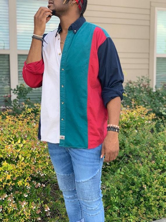 Mens Retro Shirt - image 2