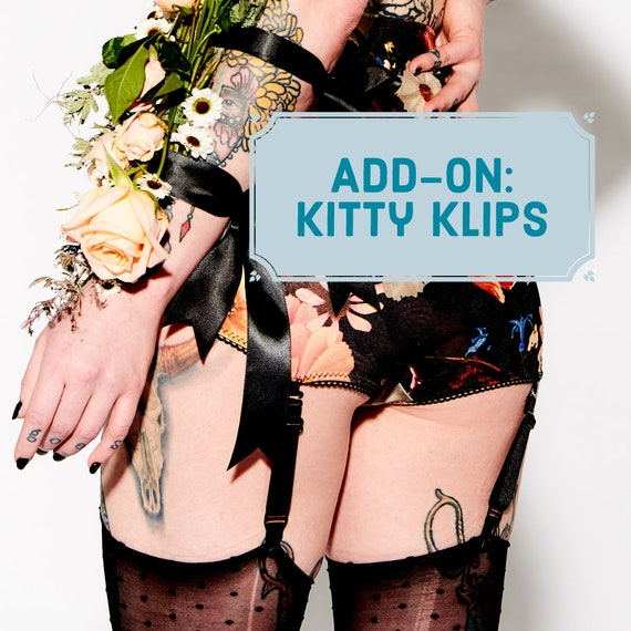 Add-on : Kitty Klips ! Ajouter des clips de poignée au point mousse pour vos fonds