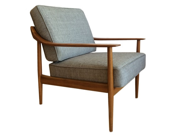 Walter Knoll Design Fauteuil.Mid Century Lounge Chair By Walter Knoll 1960s Etsy