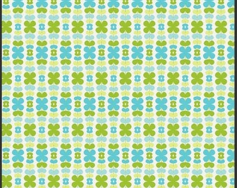 Kitchenette Honeydew > Color Me Retro Collection <> Designed by Jeni Baker for Art Gallery Fabrics < Half Yard off the Bolt