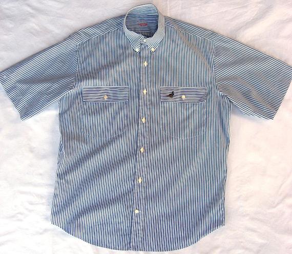 Herren Vintage Hemd Van Laack bestickte Ente deutschen Hemd | Etsy