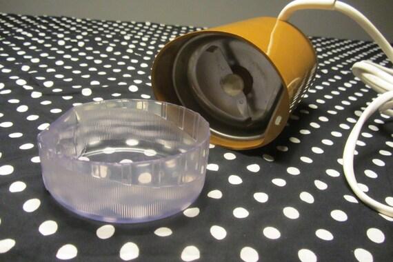 Krups Plastic Coffee Electric Grinder Type 208 Color Moka Etsy