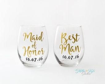 Personalized Bridal Party Gift - Bridesmaid Gift - Maid of Honor Gift - Mother of Bride Gift - Mother of Groom Gift