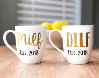 e2caaf9d3fe5 MILF   DILF Coffee Mugs