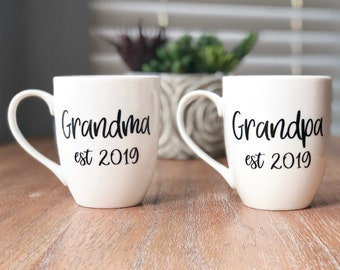 more colors personalized grandparent mugs grandparent gift - Christmas Presents For Grandparents