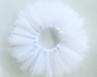 White tutu, baby girl white tutu, white, white glitter, wedding, birthday tutu, winteronederland tutu
