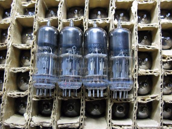 6N2P 12AX7 ECC83 Tubes NOS Russian ussr tubes Lot 100pcs NOS