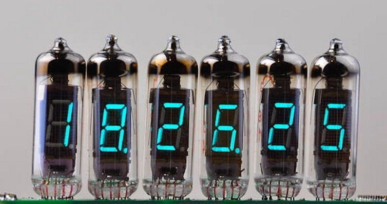 12 pcs IV-6 Russian Nixie clock VFD Soviet vacuum tubes NOS image 0