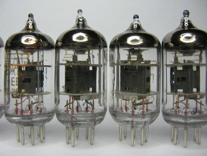 10pcs 6J1P-EV  6J1  6ZH1P-EV EF95  6AK5 6J1 Pentode Voskhod factory tubes  valves otk NOS
