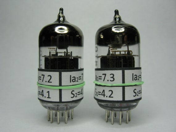 Vacuum tube  Matched pair 6J1P-EV Soviet new in original box