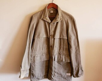 9de839a27 The Kettle Creek Canvas Company Women's Long Canvas Jacket. 1980's Jacket.  Fall Spring Jacket.