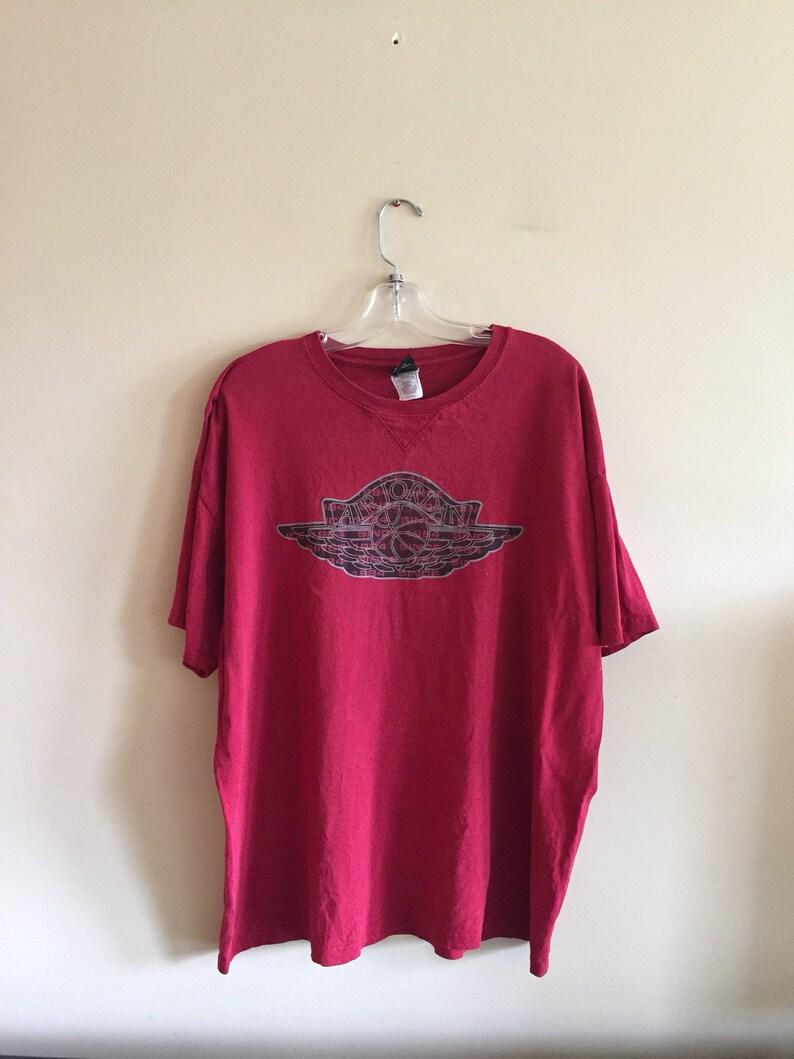 67d4ba0d7d3e0f 90 s Vintage Air Jordan Nike T-Shirt. Vintage Nike