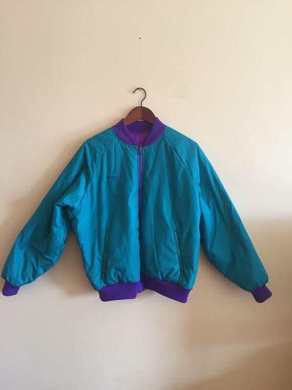 Vintage Columbia Reversible Ski Jacket. Vintage Bo