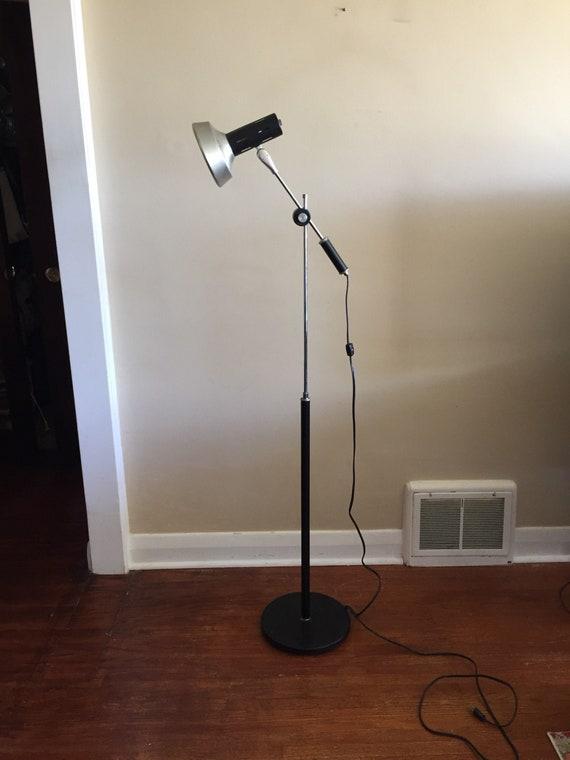1970s Industrial Style Floor Lamp Mid Century Floor Lamp Cantilever Floor Lamp
