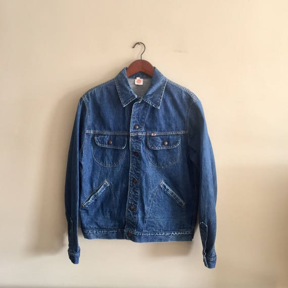 Vintage GWG Jean Jacket. Jean Jacket. Mens Medium.