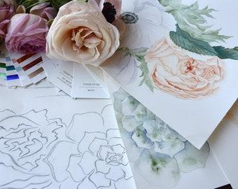 Bespoke Invitation Design - custom made for your wedding or event