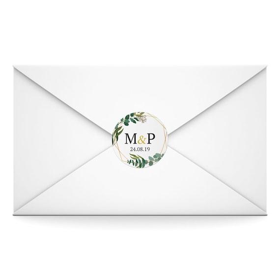 Personalised Wedding Envelope SealsFavorsStickers