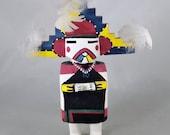 Vintage Hopi Kachina Doll Palhik Mana