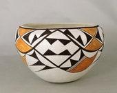 Vintage Acoma Pueblo Indian Pottery by Marie Torivio
