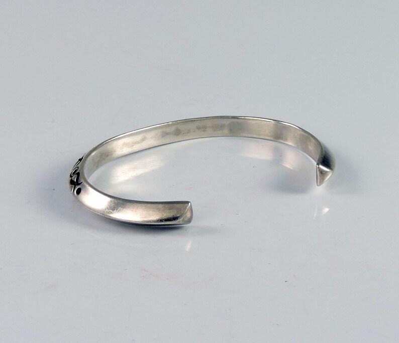 Vintage Navajo Triangle Wire Cuff Bracelet