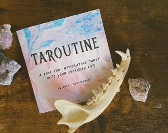 Taroutine   Everyday Tarot Zine