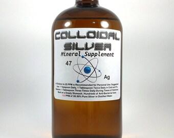 Colloidal Silver 20PPM 32oz.