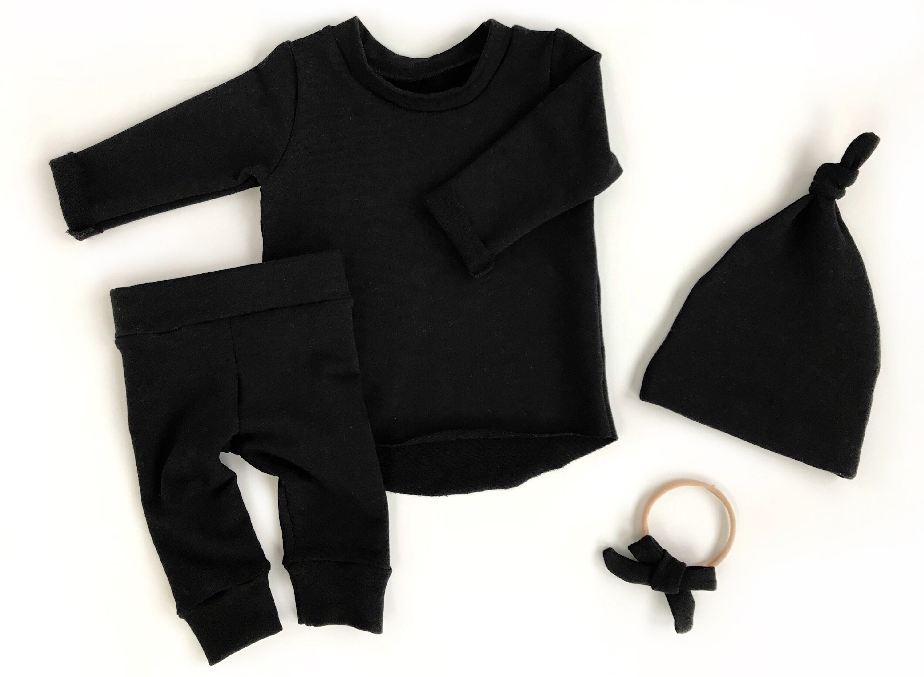 8af77b43fefd Black Newborn Boy Coming Home Outfit Newborn Photo Outfit