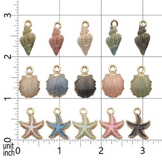 Tibetan Silver Mixed Little Mermaid//Under The Sea Mixed Charms 14 per pack