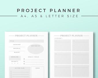 creative planner bundle printable planner inserts etsy