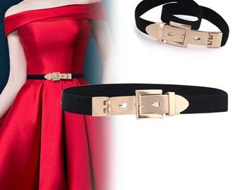 Rose gold waist belt | Etsy