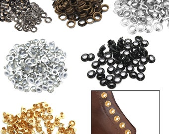 5mm Eyelets With Washers | Brass Grommets | Leather Craft | Purse | Clothing