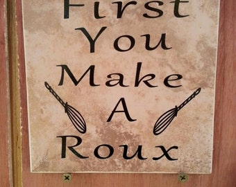 First you make a Roux Tile