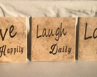 Live Laugh Love Set