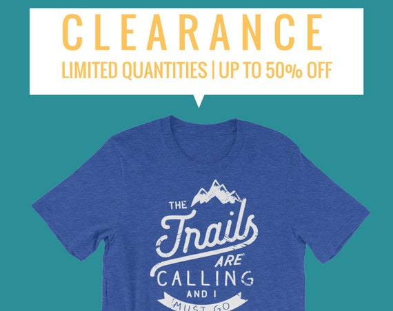 CLEARANCE- Running T-shirts | Outdoors and Trail Running  | Gift for Running or Runner | Marathon |  Dude, it's on Sale