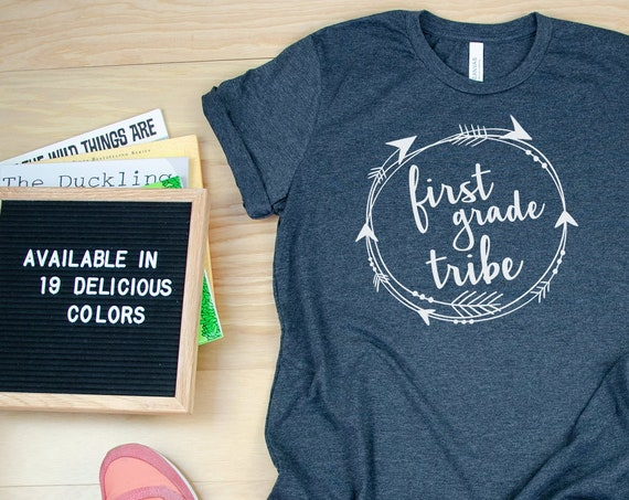 1st-5th Grade Tribe Unisex Teacher T-shirt