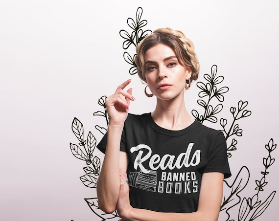 Reads Banned Books Librarian Unisex Tshirt | Super-soft tshirt | Library Science | Banned Books Week | Banned Books | Library | ALA