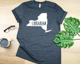 9d3964fc97d7 Any State Librarian Tshirt