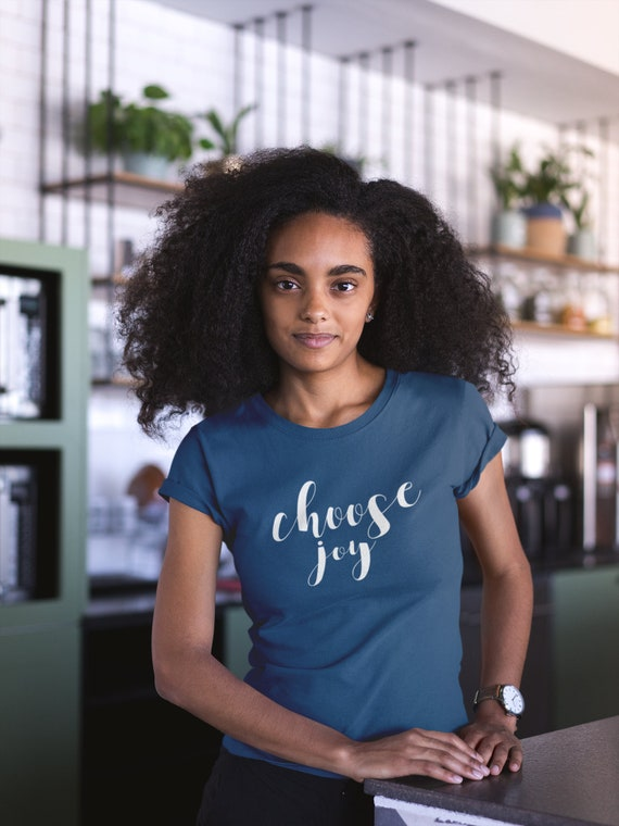 Choose Joy Vintage Super-Soft Tshirt | Christian | Positive Vibes | Christmas