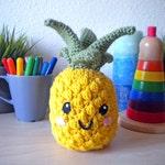 Crochet Pineapple Stuffed Toy
